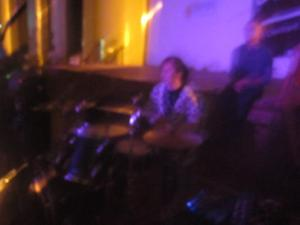 Me on drums. This was nearly two years ago. My debut live performance at school. I'm not as good as I want to be. YET.